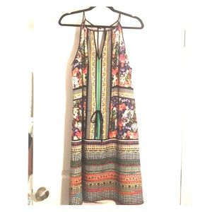 Wild and eye catching Clover Canyon dress!